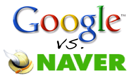Google overtakes Naver