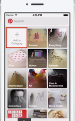 Pinterest guided search for mobile