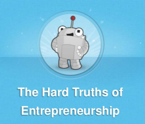 the hard truth about enterprenuership