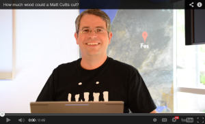 How much wood would matt cutts cut