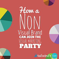 How non-visual brand can use visual content
