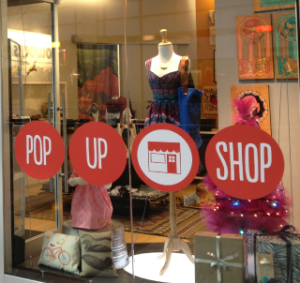 how to market your pop-up shop