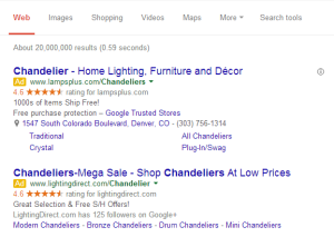 Google tests local paid search ads