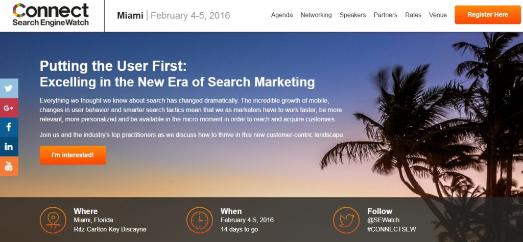 Connect by Search Engine