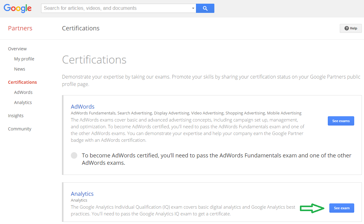 google analytics certification why and how behind it step 3 a study partner