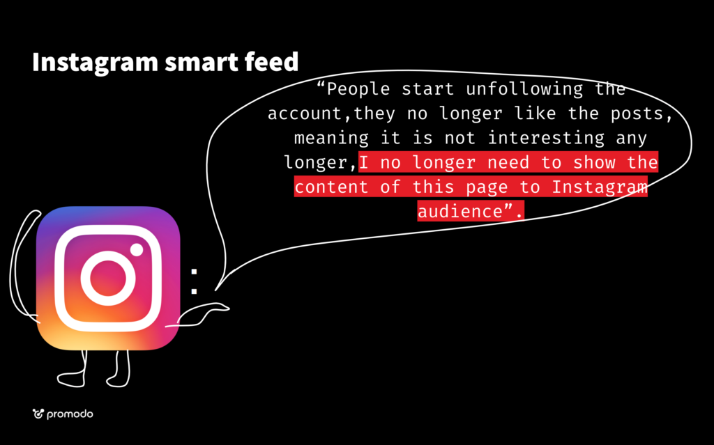 how instagram smart feed works